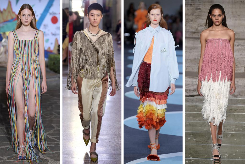 fringe, fashion, runway, trend, fashion, trends, chic, runway models, spring fashion