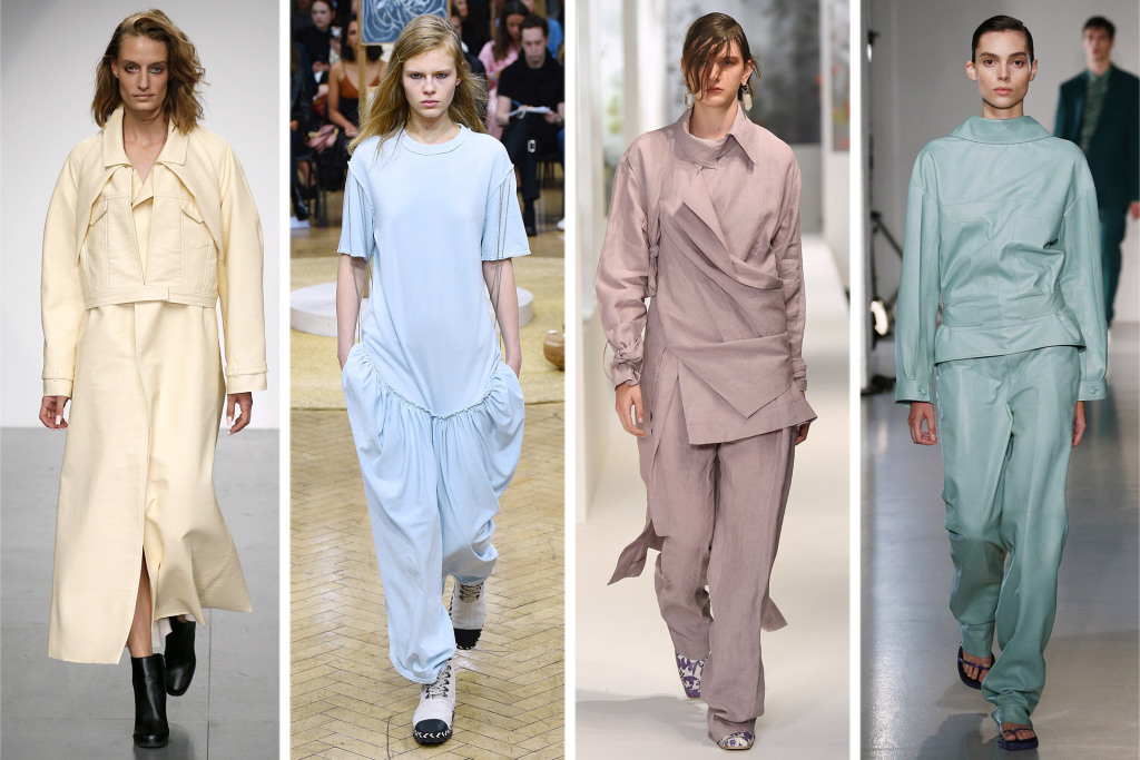 pastel, muted, tones, fashion, runway, couture, designer, 2018, trends